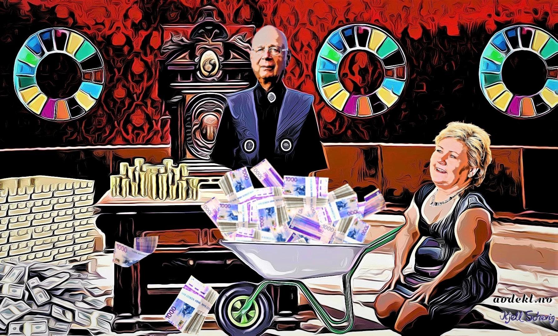 Erna Solberg elsker å hjelpe verdens rikeste