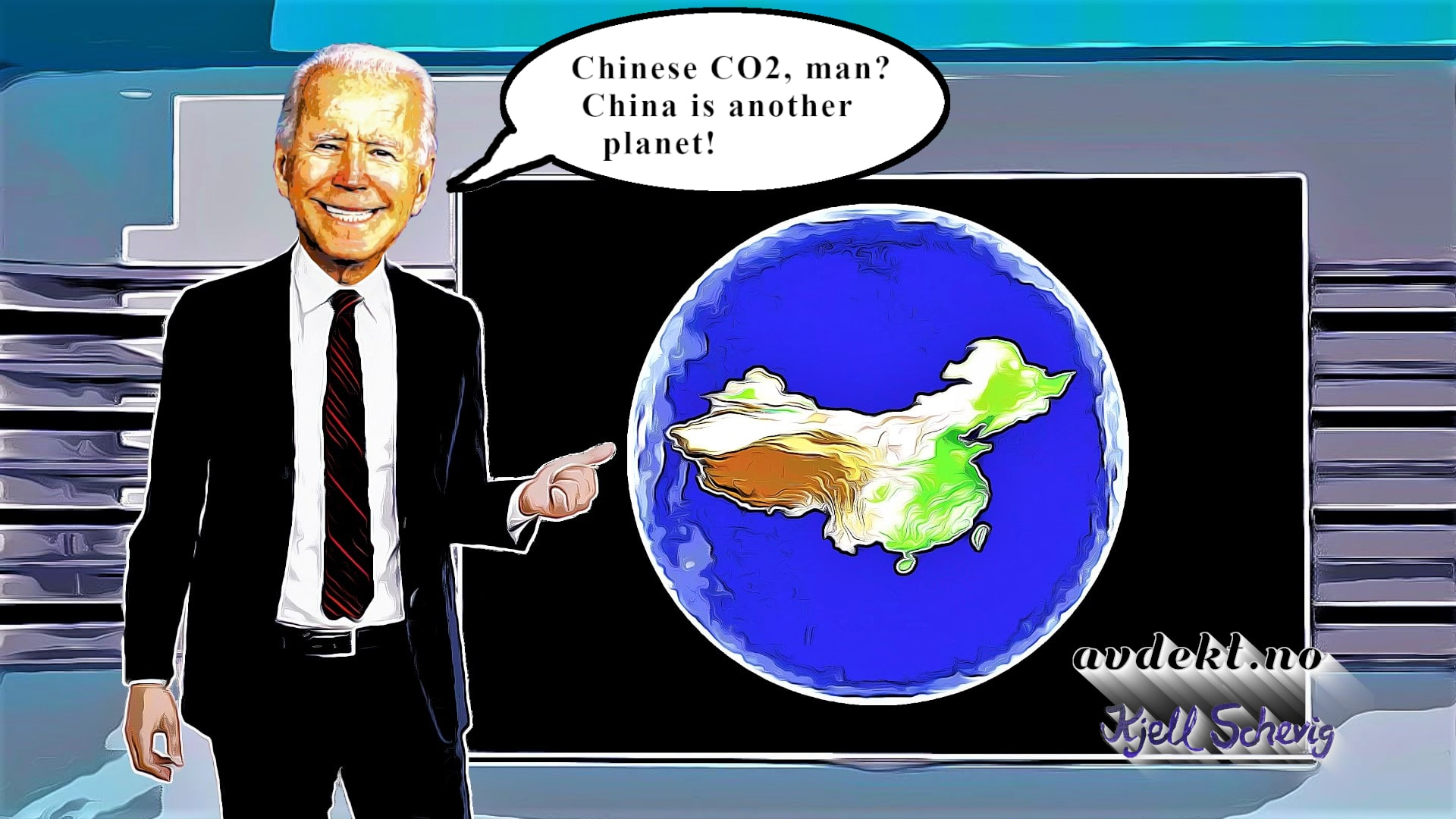 Chinese CO2, man? China is another planet!